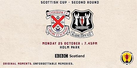 Clydebank FC v Elgin City tickets