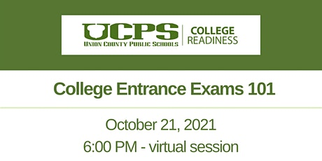 UCPS College Readiness Parent Series: College Entrance Exams 101 tickets