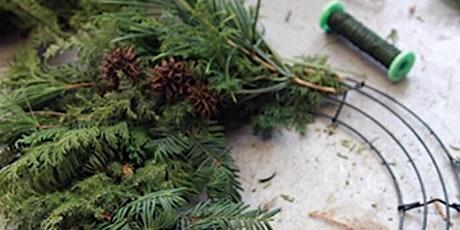 Holiday Wreath Workshop 2 tickets