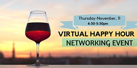 Virtual Happy Hour Networking Event | November 11, 2021 tickets
