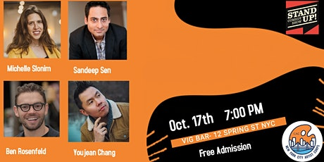 Free Comedy Show Presented by the New York City Artist Corps tickets
