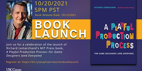 """Richard Lemarchand's """"A Playful Production Process"""" Book Launch Event tickets"""