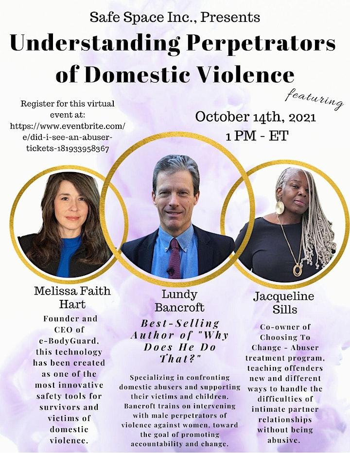 Understanding Perpetrators  of Domestic Violence image