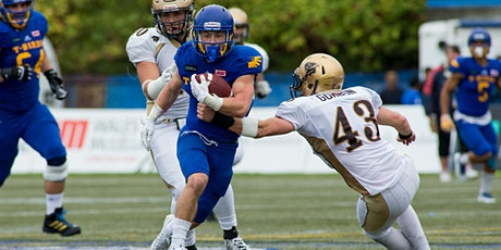 CCC/SMC Sponsors the UBC Thunderbirds Football Game vs the Manitoba Bisons tickets