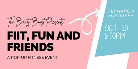 FIIT, Fun, and Friends - A Pop Up Fitness Event tickets