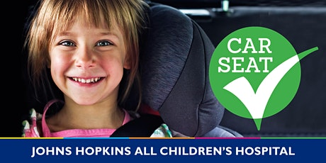 Car Seat Check Appointment -Sarasota County Health Dept-Mon,November 1,2021 tickets