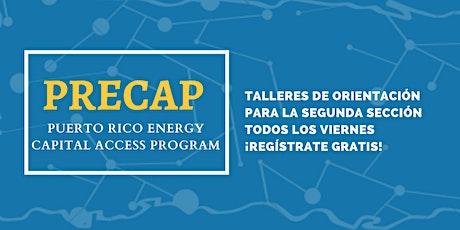 Pre-PRECAP Workshop: Puerto Rico Energy Capital Access Program Cohort IV tickets