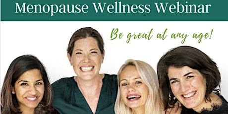 Menopause Wellness Webinar with Dr. Hakim tickets