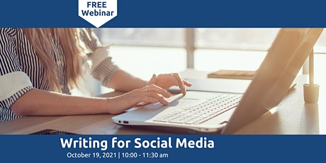 Writing for Social Media & More tickets