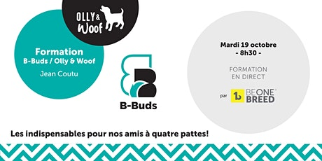 Formation B-Buds - Olly & Woof (produits pour animaux) tickets
