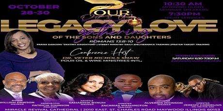 Legacy Love Gathering of The Sons and Daughters tickets