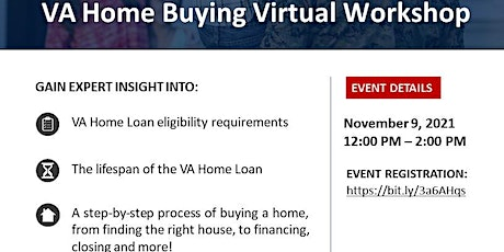 USO Transitions VA Home Buying Virtual Workshop tickets