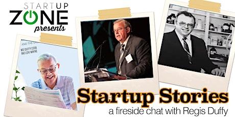 SUZ presents: Startup Stories feat. Regis Duffy tickets