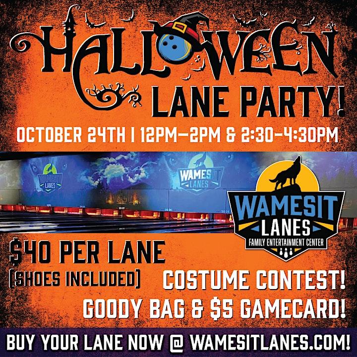 Halloween Family Lanes Parties 2021 image