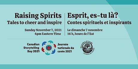 SC-CC 2021 Canadian Storytelling Day concert - Journée nationale du conte tickets