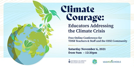 Climate Courage: Educators Addressing the Climate Crisis Conference tickets