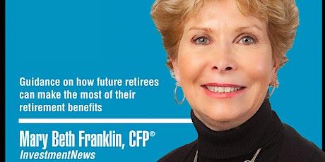 Seminário sobre Social Security - com Mary Beth Franklin ingressos