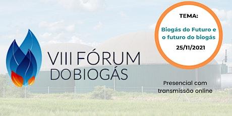 VIII Fórum do Biogás ingressos