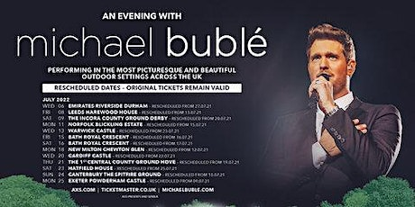 An Evening With Michael Buble tickets