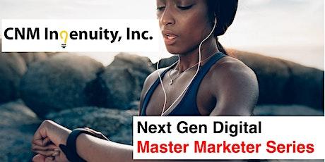 Master Marketer Series: Inside  Digital Marketing  Strategy tickets