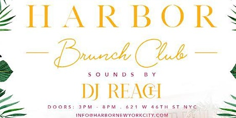 HARBOR NYC - DAY PARTY tickets
