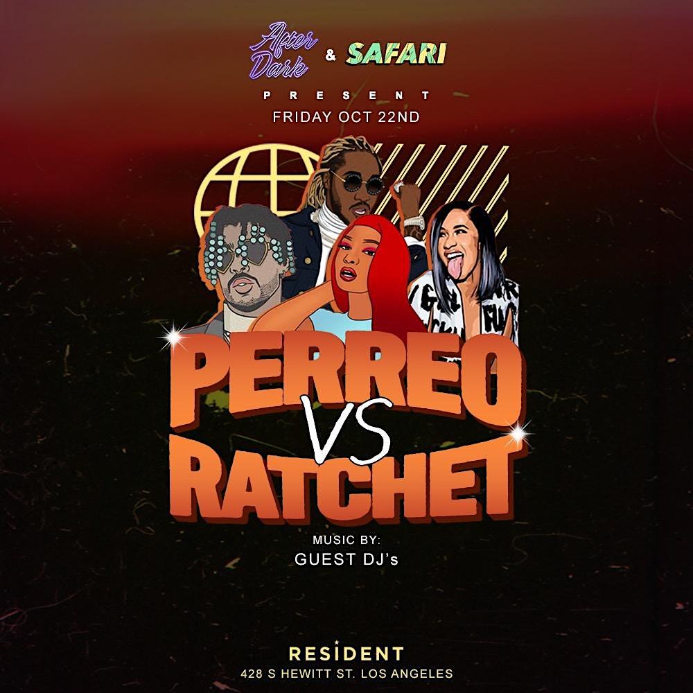 Perreo vs Ratchet