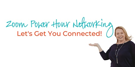 Zoom Power Hour Networking tickets