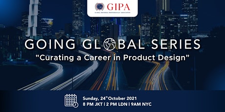 Curating a Career in  Product Design tickets