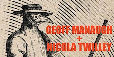 GGA+ ART ALLEY TALKS - GEOFF MANAUGH AND NICOLA TWILLEY BOOK DISCUSSION tickets
