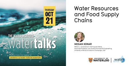 WaterTalk: Water Resources and Food Supply Chains tickets