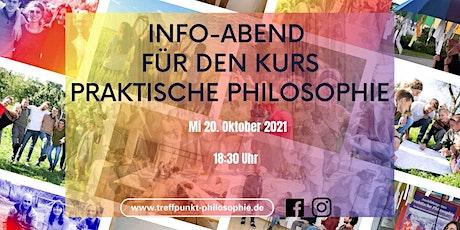 """Info-Abend für den Kurs """"Praktische Philosophie"""" Tickets"""