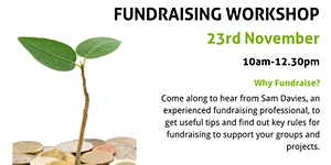 Fundraising workshop for Residents Associations,...