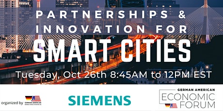 Partnerships & Innovation for Smart Cities (GAEF 2021) tickets