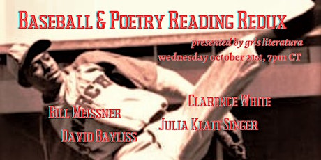 Baseball & Poetry: A Reading Redux tickets