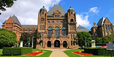 Legislative Assembly of Ontario Virtual Tour (Lunch 'N' Learn) tickets