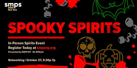 SMPS-NY NJ Affiliate Spooky Spirits tickets