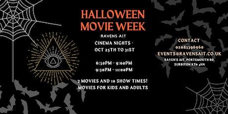 Halloween Cinema Week on an Island  tickets