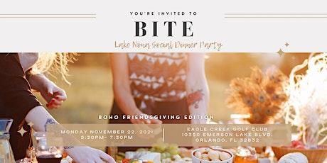 Bite: Boho Friendsgiving Dinner tickets