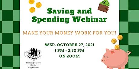 Saving and Spending Webinar tickets