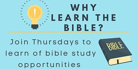 Free Young Adult / Adult Online Zoom Bible Study Tickets