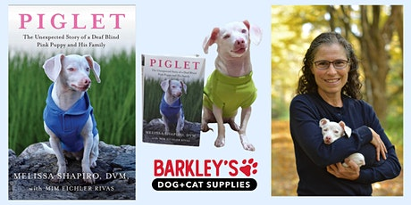 1pm Book Signing - Piglet: The Unexpected Story of a Deaf Blind Pink Puppy tickets