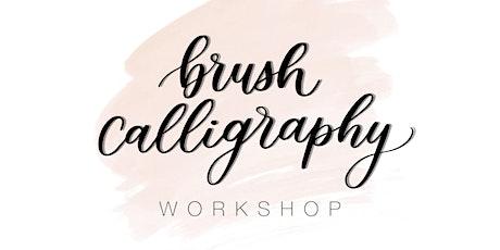Brush Calligraphy Workshop  - Lowercase Letters biglietti
