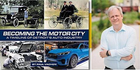 DPL Author Series:  Paul Vachon tickets