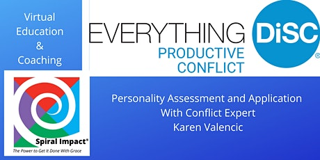 DiSC Personality Assessment for Productive Conflict tickets