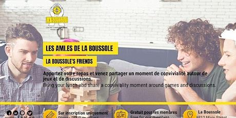 Le repas des ami.es de La Boussole tickets