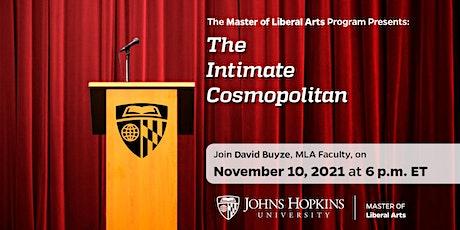 AAP MLA Faculty Spotlight - November 2021 featuring David Buyze tickets