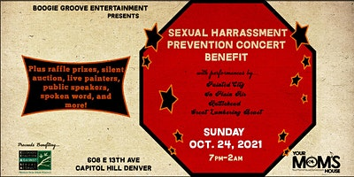 Sexual Harassment Prevention Concert Benefit