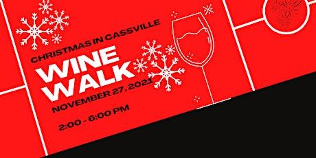 Christmas in Cassville Wine Walk 2021 tickets