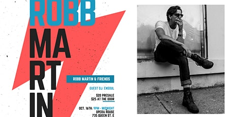 Robb Martin & Friends at the Opera House tickets