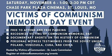 Victims of Communism Memorial Day Event in St. Louis tickets